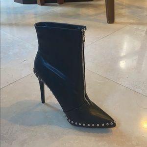 Studded heeled booties NEVER WORN BRAND NEW LTD ED